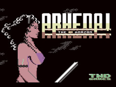 Arhena the Amazon - C64