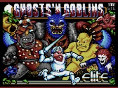 Ghost' n Goblins Arcade Music box - Plus/4