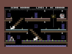 Granny's Teeth - C64