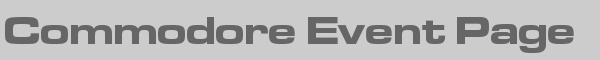 Commodore Event Page