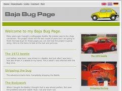 Baja Bug Page