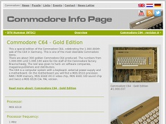 Commodore Info Page